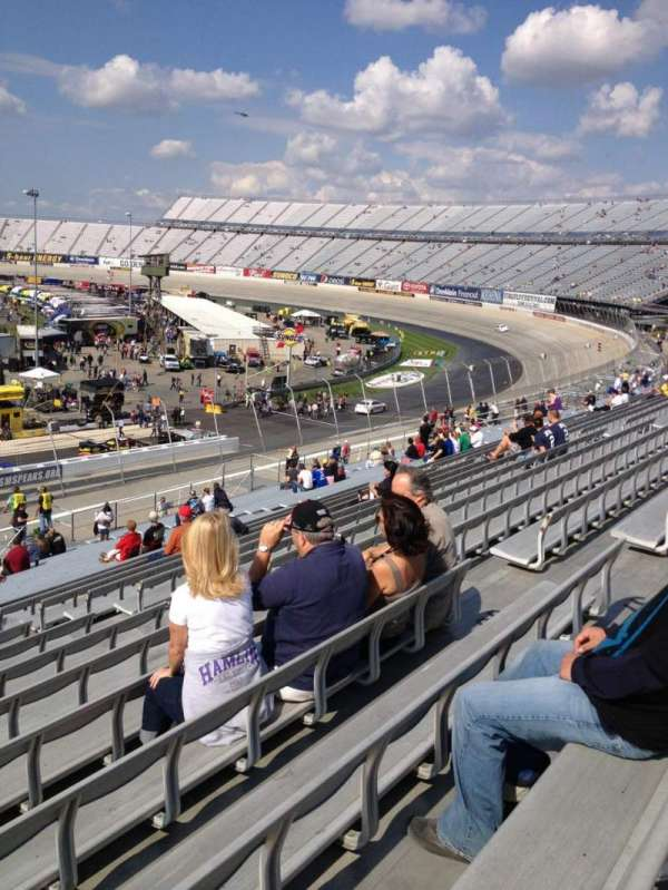 Dover International Speedway, section: 244, rangée: 38, siège: 10
