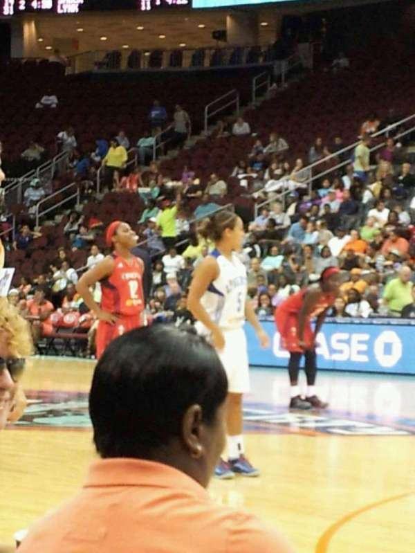 Prudential Center, section: floor