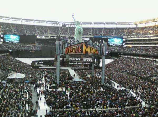 MetLife Stadium, section: 228a, rangée: H, siège: 8