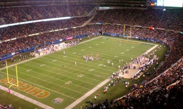 Soldier Field, section: 445, rangée: 25, siège: 5
