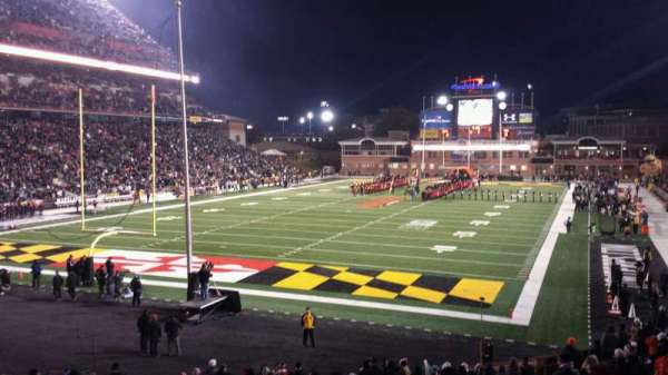 Maryland Stadium, section: 17, rangée: DD, siège: 20