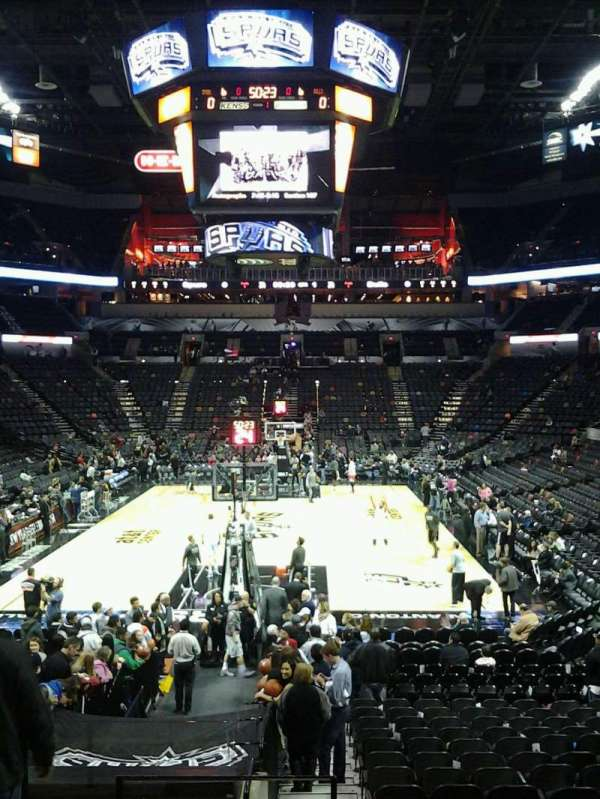 AT&T Center, section: 128