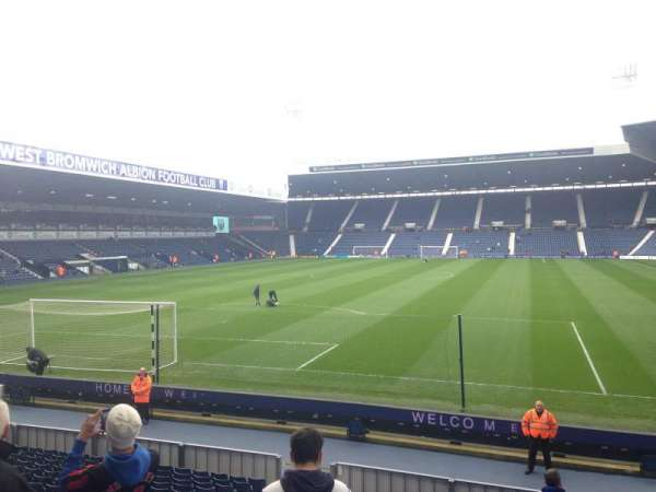 The Hawthorns, section: Away end, rangée: W