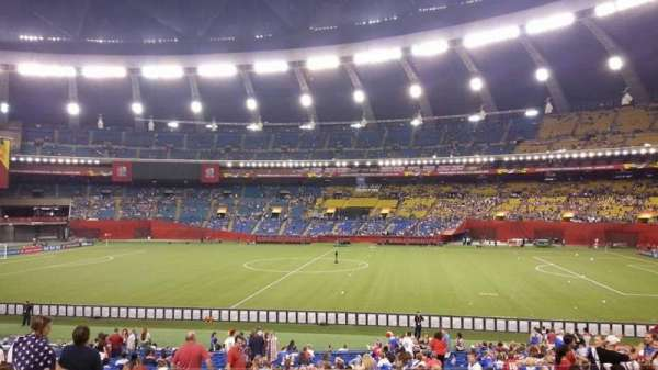 Olympic Stadium, Montreal, section: 128, rangée: L, siège: 11
