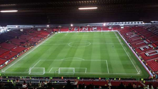 Old Trafford, section: E335