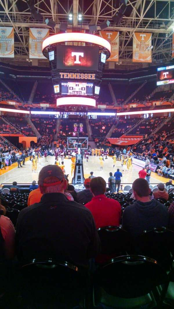 Thompson-Boling Arena, section: 113, rangée: 12