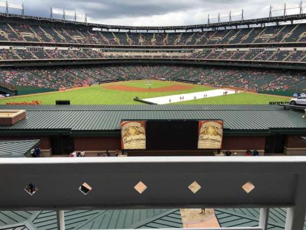 Globe Life Park in Arlington, section: Middle Office Suites