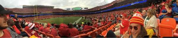 Arrowhead Stadium, section: 117, rangée: 6, siège: 14