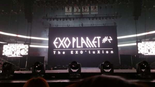 Prudential Center, section: GA, rangée: Extended Stage