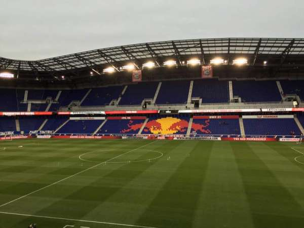 Red Bull Arena (New Jersey), section: 110, rangée: 16, siège: 15