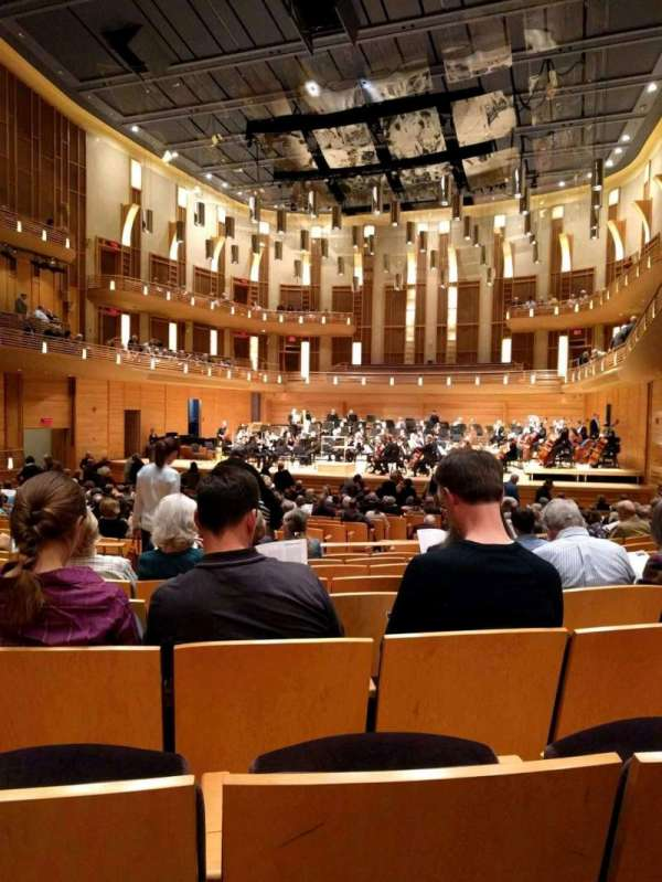 The Music Center at Strathmore, section: Orchestra Tier, rangée: HH, siège: 10