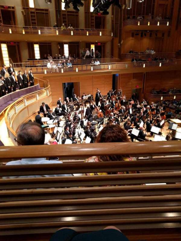The Music Center at Strathmore, section: Promenade Front Left, rangée: B, siège: 9