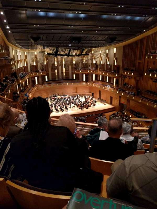 The Music Center at Strathmore, section: Grand Tier Left, rangée: E, siège: 3