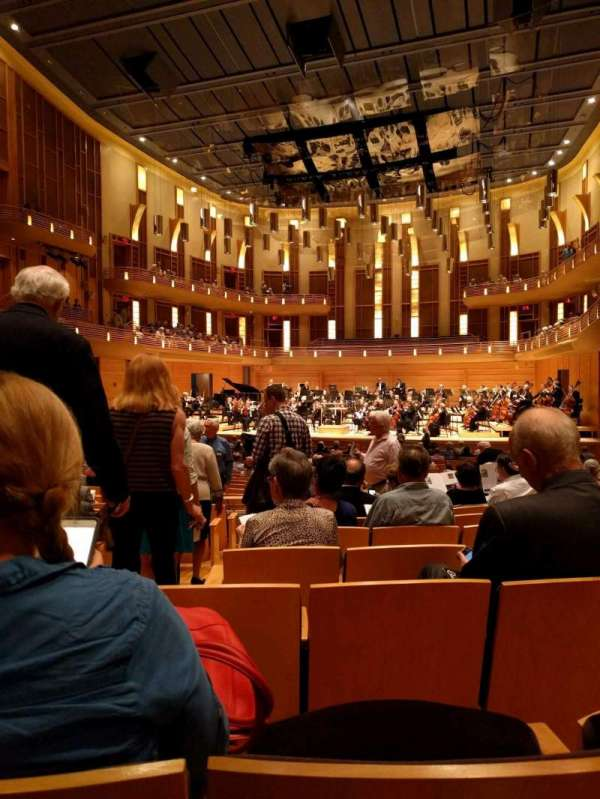 The Music Center at Strathmore, section: Orchestra Tier Right, rangée: JJ, siège: 4