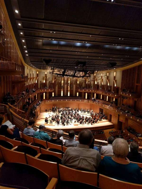 The Music Center at Strathmore, section: Grand Tier, rangée: E, siège: 3