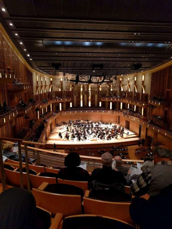 The Music Center at Strathmore, section: Grand Tier Center, rangée: E, siège: 125