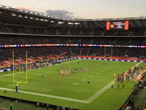 Twickenham Stadium, section: M16, rangée: 64, siège: 30