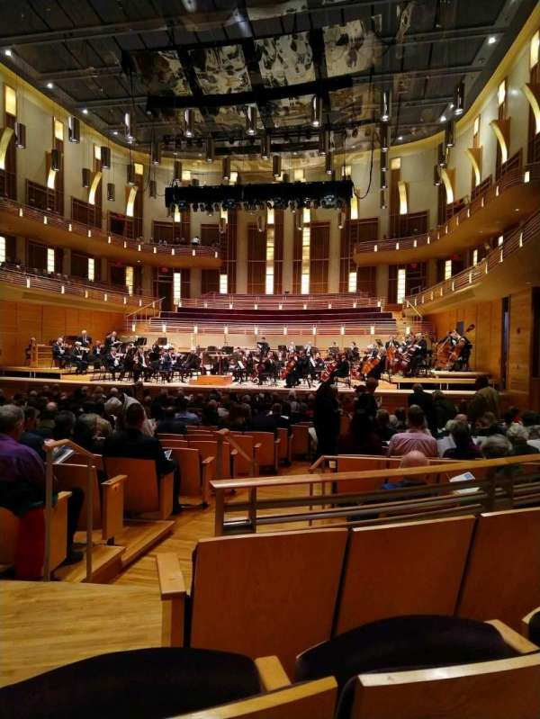 The Music Center at Strathmore, section: Orchestra Tier Right, rangée: CC, siège: 4