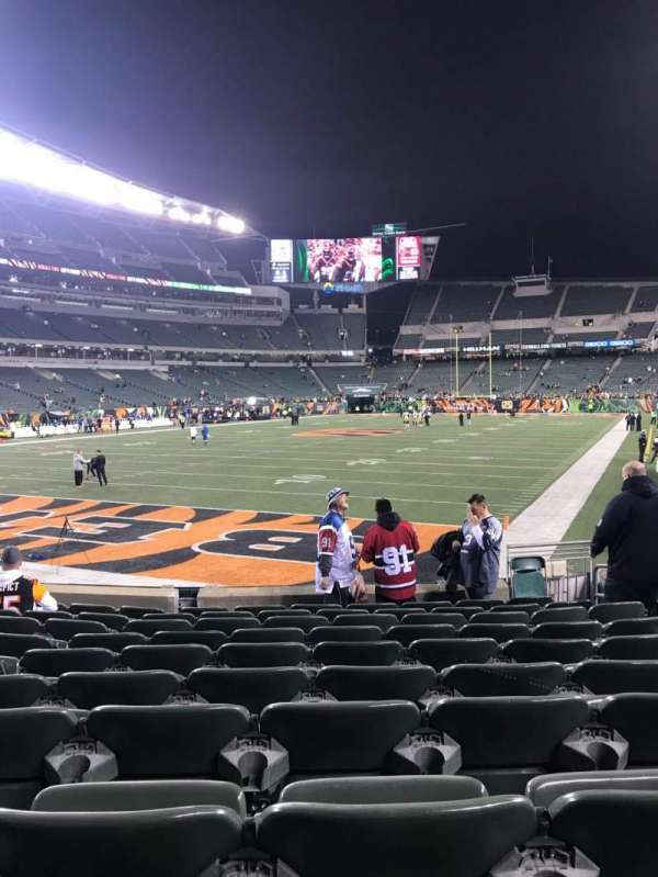 Paul Brown Stadium, section: 150, rangée: 10, siège: 8