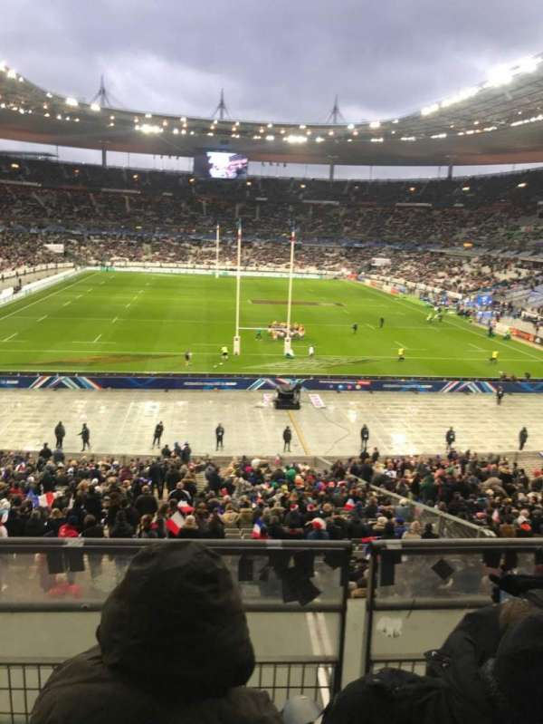 Stade de France, section: L12, rangée: 37, siège: 25