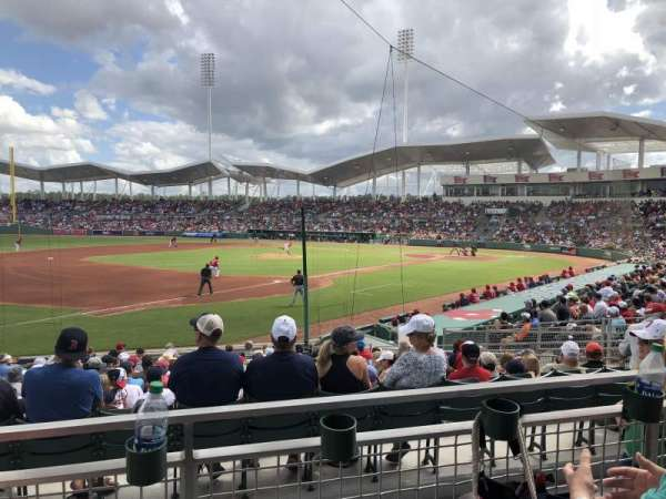 JetBlue Park, section: 216, rangée: 2, siège: 7