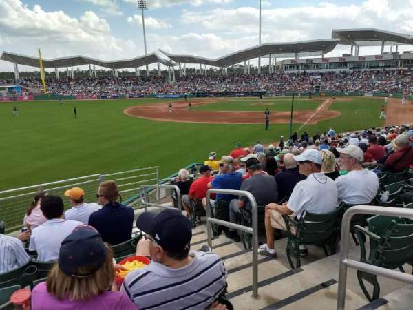 JetBlue Park, section: 222, rangée: 8, siège: 2