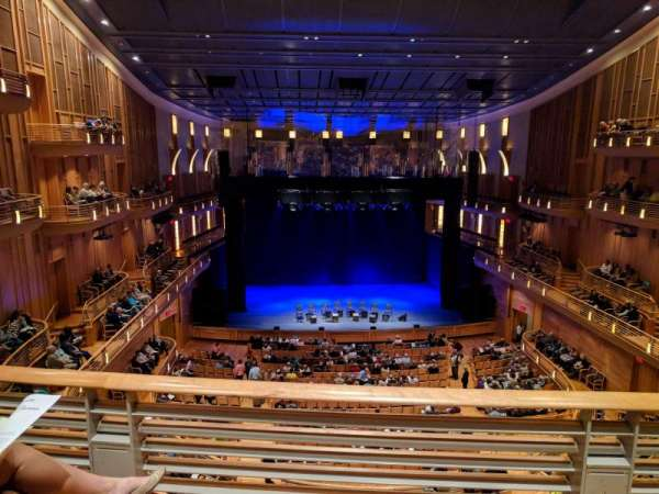 The Music Center at Strathmore, section: Grand Tier, rangée: B, siège: 31