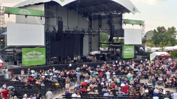 Huntington Bank Pavilion at Northerly Island, section: 311, rangée: N, siège: 1
