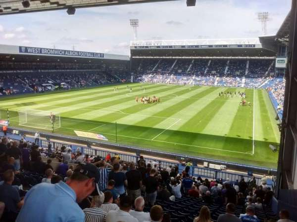 The Hawthorns, section: A1, rangée: PP, siège: 4