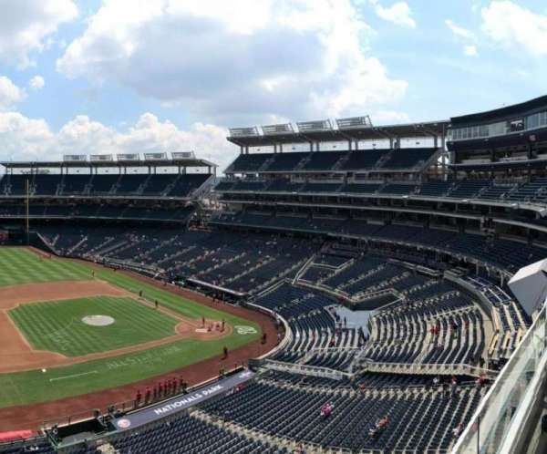 Nationals Park, section: 307, rangée: A, siège: 20