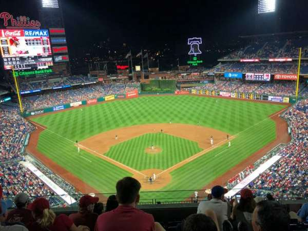 Citizens Bank Park, section: 420, rangée: 6