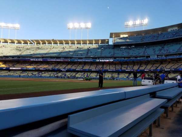 Dodger Stadium, section: 37BL, rangée: 1, siège: 1