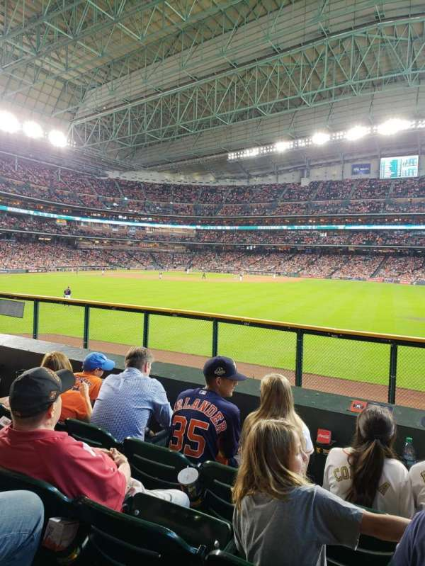 Minute Maid Park, section: 156, rangée: 4, siège: 13