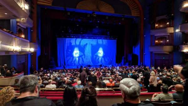 Ordway Center for the Performing Arts - Music Theater, section: MEZZ, rangée: FF, siège: 103