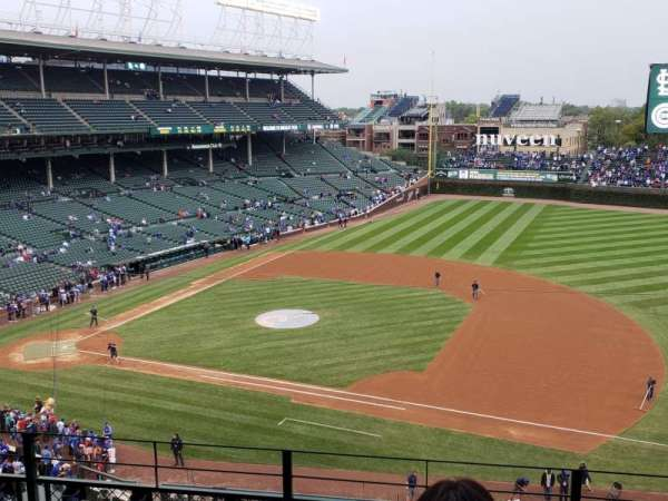 Wrigley Field , section: 431, rangée: 5, siège: 111 and 112