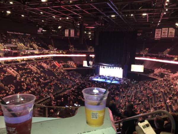 Talking Stick Resort Arena, section: 209, rangée: 6, siège: 3