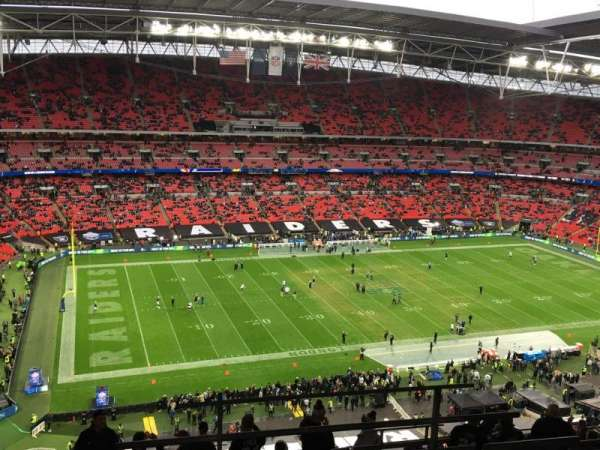 Wembley Stadium , section: 504, rangée: 17, siège: 107