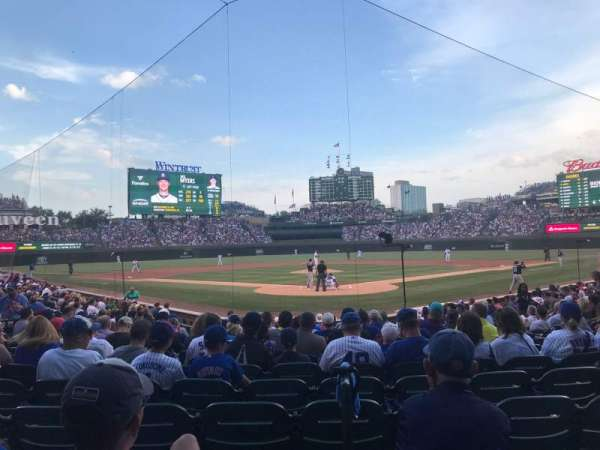 Wrigley Field, section: 121, rangée: 8
