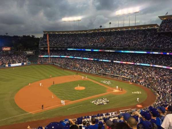 Dodger Stadium, section: 23RS, rangée: K, siège: 17