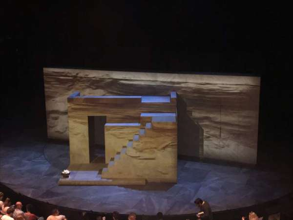 The Olivier Theatre at the National Theatre, section: Circle, rangée: A, siège: 22