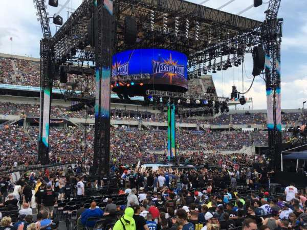 Camping World Stadium, section: 136
