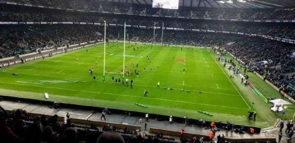 Twickenham Stadium, section: M19, rangée: 65, siège: 91