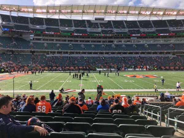 Paul Brown Stadium, section: 141, rangée: 18, siège: 3
