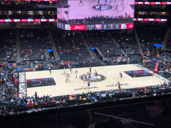 State Farm Arena, section: T24, rangée: C9