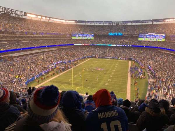 MetLife Stadium, section: 224b, rangée: 12, siège: 22