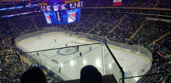 Madison Square Garden, section: 301, rangée: 2, siège: 15
