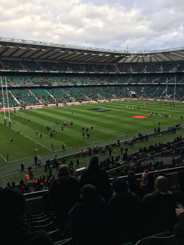 Twickenham Stadium, section: M12, rangée: 60, siège: 334
