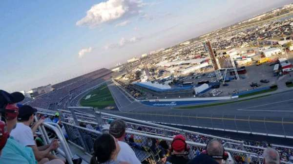 Daytona International Speedway, section: 489, rangée: 29, siège: 12