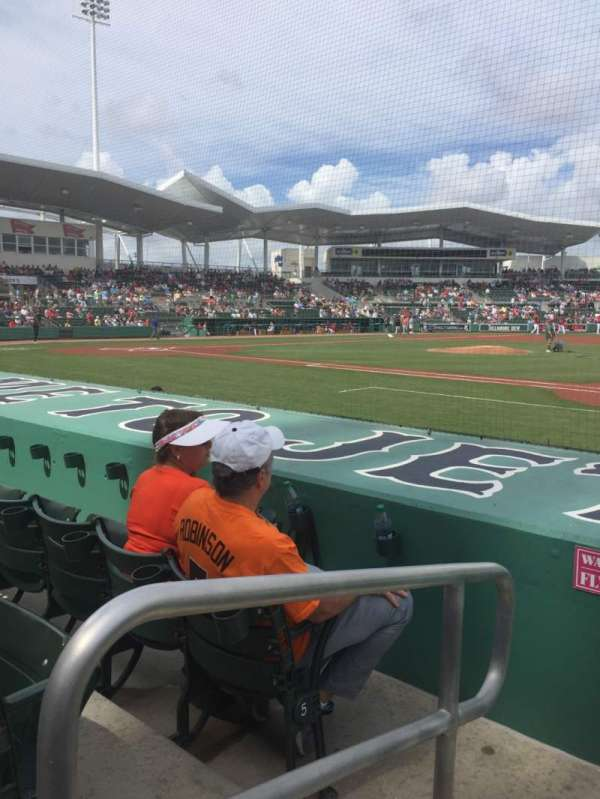 JetBlue Park, section: 109, rangée: 7, siège: 24