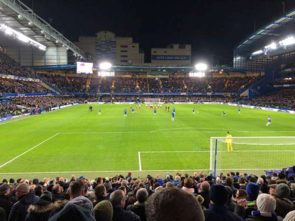 Stamford Bridge, section: MH Lower, rangée: W, siège: 99
